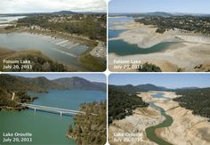 """Startling Footage of California Reservoirs Shows Devastating Impact of Epic Drought 