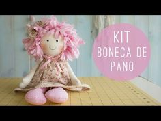 Anita Catita - Kit Boneca de Pano - YouTube