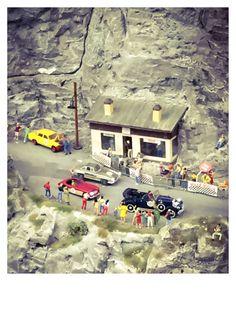 Mille Miglia, Miniatur Wunderland, Hamburg