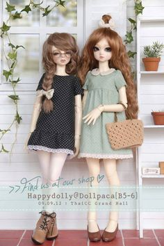 Repinned from Chloe Rahal.  Ball Jointed Dolls