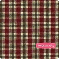 Primo Plaids Flannel Red and Green Medium Plaid Yardage <br/>SKU