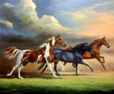 poderosos-caballos-cuadros-al-oleo+%288%29.jpg (931×768)