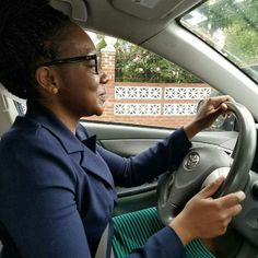 Bessie #driving on #brooklyn street on her 2nd of 4 #lessons.  #access2drive #drivingschool #learntodrive #teamaccess #welovewhatwedo www.drivingschoolsbrooklyn.com