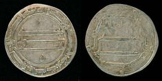 Description: Scarce silver Dirham from Al-Rashid, who ruled the Muslim empire in…