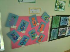 Fall 2013 Art Show @ Sandcastle Preschool; monsters
