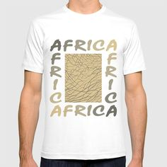 Africa - background with text and texture elephant T-shirt by vladimirceresnak Elephant, Africa, Mens Tops, T Shirt, Tee, Elephants, Tee Shirt