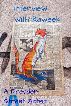 Interview with Kaweek, a young Dresden street artist