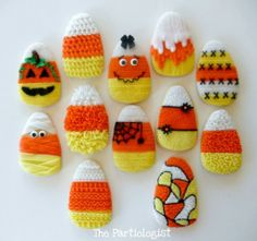 The Partiologist: Candy Corn Cookies!