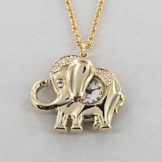Elephant Fun Watch Pendant, heffalump!!!