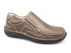 Dr Keller NEPTUNE Mens Leather Slip On Shoes Tan - http://on-line-kaufen.de/dr-keller/dr-keller-neptune-mens-leather-slip-on-shoes-tan