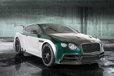 #Mansory GT Race #Bentley Continental
