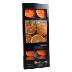 Duftlys - Appelsin - 10 Pack Orange, Fruit, Drinks, Bottle, Food, Beverages, Flask, Essen, Drink