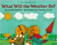 Chalk Talk: A Kindergarten Blog: What Will the Weather Be? and a Weather Freebie