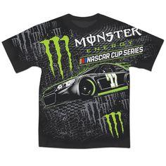 2017 Monster Energy Total Print NASCAR Tee   Raceline Direct