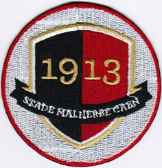Ligue 1 SM Stade Malherbe Caen French League France Football Soccer Badge Patch