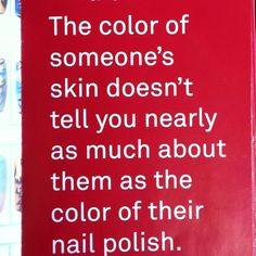 lol yes! want to make a nail polish holder with this quote