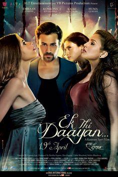 Ek Thi Daayan is an upcoming Bollywood horror film directed by Kannan Iyer. The film features Emraan Hashmi, Konkona Sen Sharma, Huma Qureshi and Kalki Koechlin