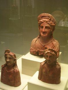 Phoenician goddess figures Museo de  Cadiz