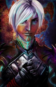 Fenris http://inquisitorwren.tumblr.com/tagged/dragon-age