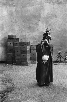 Josef Koudelka, Carnival, Switzerland, 1976.