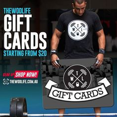 Want to give the gift of Fitness? With The WOD Life it's easy, with gift cards delivered electronically in seconds available to be used on our HUGE product range at THEWODLIFE.COM.AU. Click the  to learn more!