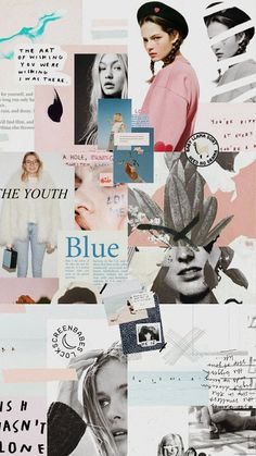 Magazine collage · retro wallpaper · ᴘ ι ɴ т ᴇ ʀ ᴇ ѕ т Tumblr Wallpaper, Wallpaper S, Rustic Wallpaper, Wallpaper Magazine, Aesthetic Iphone Wallpaper, Aesthetic Wallpapers, Photo Pour Instagram, Collage Background, Collage Collage