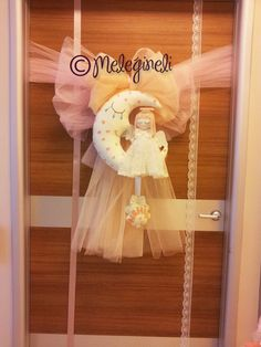 Baby banner bebek kapı süsü hastane odası süsleme