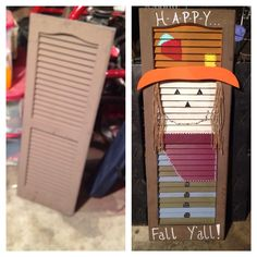 Scarecrow Shutter By Lauriesrusticdecor On Etsy Shutters