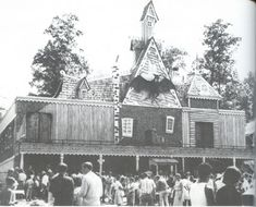 West View Park's old haunted house ride