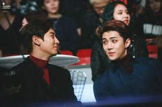 Chanyeol and Sehun @ MAMA 2015