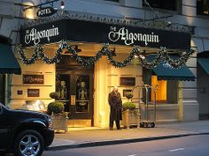 Algonquin Hotel, 59 West Street, New York City. Algonquin Round Table, Algonquin Hotel, American Poets, American History, Have A Nice Trip, Dorothy Parker, New York Hotels, I Love Nyc, Places To See