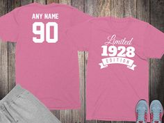 90th birthday gifts for women shirts 90 year old birthday women 1928 birthday shirt birthday gifts for her