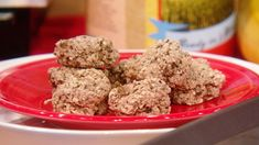 Banana Oatmeal Cookies | Rachael Ray Show -- I just made these.  They were simple, yummy, and guilt free.