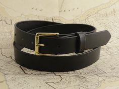 THE CYRIL BELT Black with Brass Roller Buckle Free personalization if you wish!  #Cyril #madetowander #madebyhand #handmade #cyrilleatherandsuch #leather #wander #sorehandsoldtools
