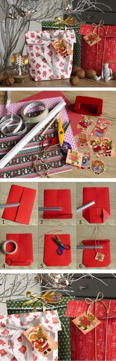 Občas potřebujete zabalit neforemné dárky. A přesně na to se hodí vyrobené dárkové pytlíčky. Kompletní návod najdete na blogu.