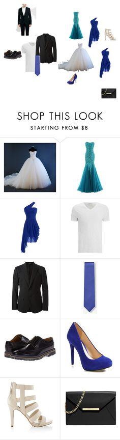 """""""my perfect wedding"""" by kiki-167 ❤ liked on Polyvore featuring American Vintage, Dolce&Gabbana, Paul Smith, Jessica Simpson, White House Black Market and MICHAEL Michael Kors"""