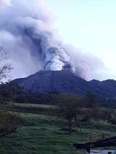 Turrialba volcano er