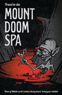 Join Gollum at the Mount Doom Spa | Flickr - Photo Sharing!