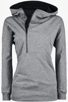 Stylish Grey Womens Hoodie