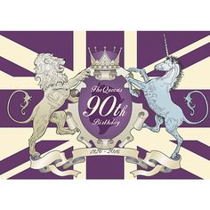The Queens 90th Birthday Poster