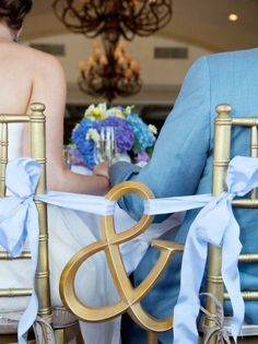 i swear- every wedding has these chairs (not mine)