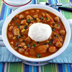Crockpot Pumpkin Chicken Chili