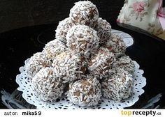 Margot kuličky recept - TopRecepty.cz Cravings, Food And Drink, Cooking Recipes, Herbs, Cookies, Vegetables, Cake, Sweet, Desserts