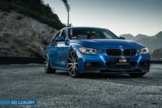 Blue BMW F30 by bluebmwf30. Click to view more photos and mod info.