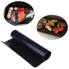 Garden Supplies Bbq Honest Fiber Glass Fabric 40cm Grill Mat Baking Mat Pad Easy Clean Non-stick Bbq Barbeque Tools Cooker Picnic Outdoor Grill Refreshment