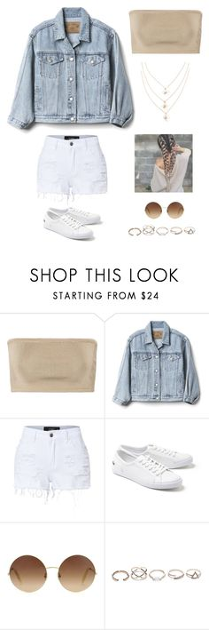 """Untitled #4086"" by twerkinonmaz ❤ liked on Polyvore featuring Balmain, Gap, LE3NO, Lacoste, Victoria Beckham and GUESS"