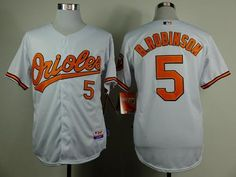 d6f16b791 Orioles  5 Brooks Robinson White Cool Base Stitched MLB Jersey Football  Jerseys