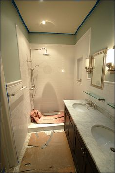 Benjamin Moore Quiet Moments...paint color for master bath. Our master bath and bedroom color