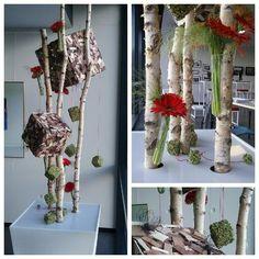 Decoratie bloemstuk: te bezichtigen in CVO de verdieping in Heusden-Zolder  2e verdieping
