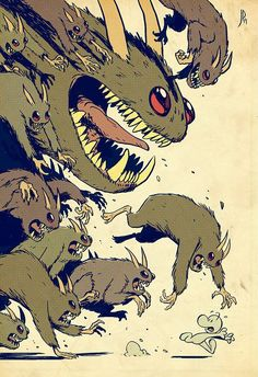 Fan art Bone Jeff Smith by Jake Parker Comic Book Artists, Comic Books Art, Comic Art, Comic Character, Character Concept, Character Design, Bone Jeff Smith, Bone Book Series, Bone Comic